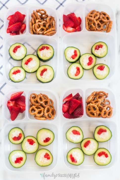 Cucumber Sushi Lunch Box Idea - Family Fresh Meals