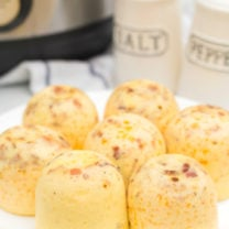 Instant Pot Bacon Cheddar Egg Bites
