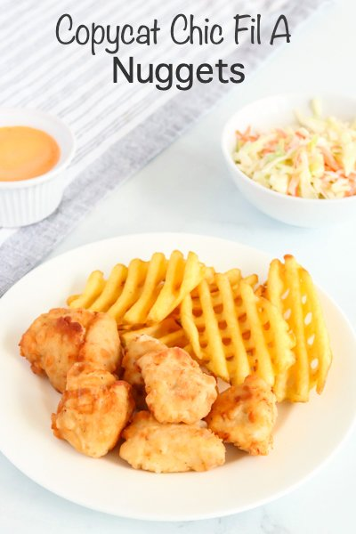 Copycat Chick Fil A Nuggets Recipe - Family Fresh Meals