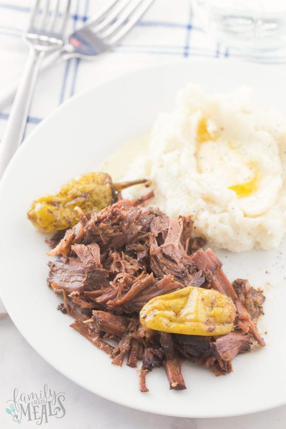 Crockpot Mississippi Pot Roast Recipe - Family Fresh Meals
