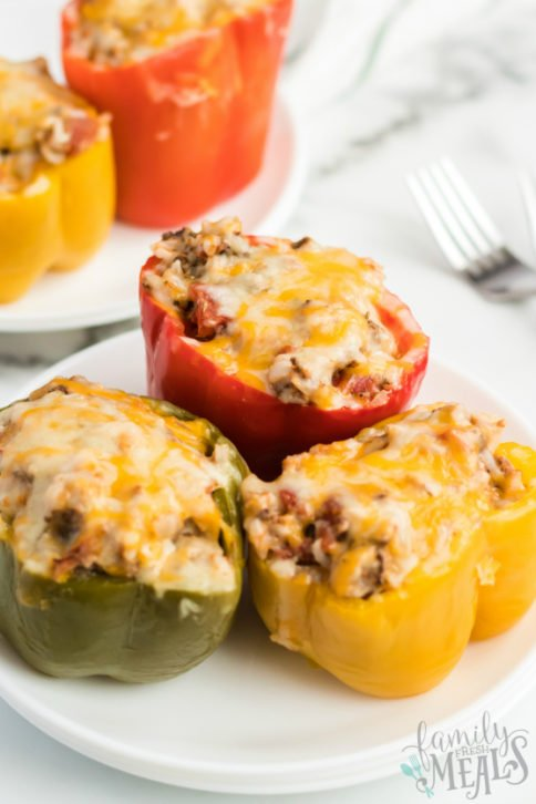 Instant Pot Stuffed Peppers Recipe - Family Fresh Meals