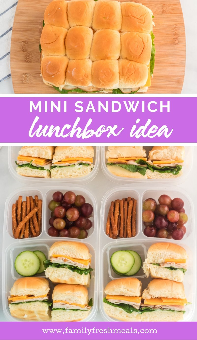 Mini Sandwich Lunchbox Idea Family Fresh Meals