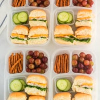 Mini Sandwich Lunchbox Idea