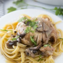 Crockpot Chicken Marsala