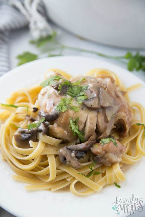Crockpot Chicken Marsala Recipe - Family Fresh Meals