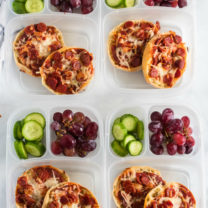 English Muffin Pizza Lunchbox Idea
