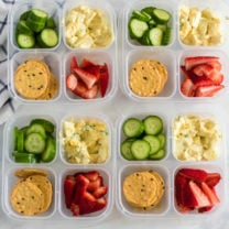 Healthy Egg Salad Easy Lunchbox Idea