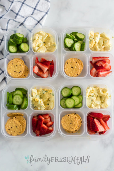 Healthy Egg Salad Lunchbox Idea - Family Fresh Meals lunch idea