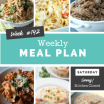 Easy Weekly Meal Plan Week 142