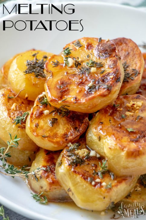 How to Make Melting Potatoes Recipe -- Family Fresh Meals