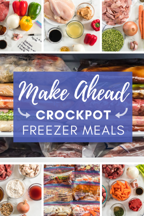 Make Ahead Crockpot Freezer Meals from Family Fresh Meals