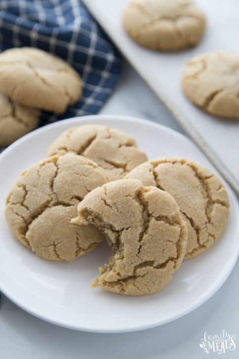 Soft Brown Sugar Cookies Recipe - Family Fresh Meals