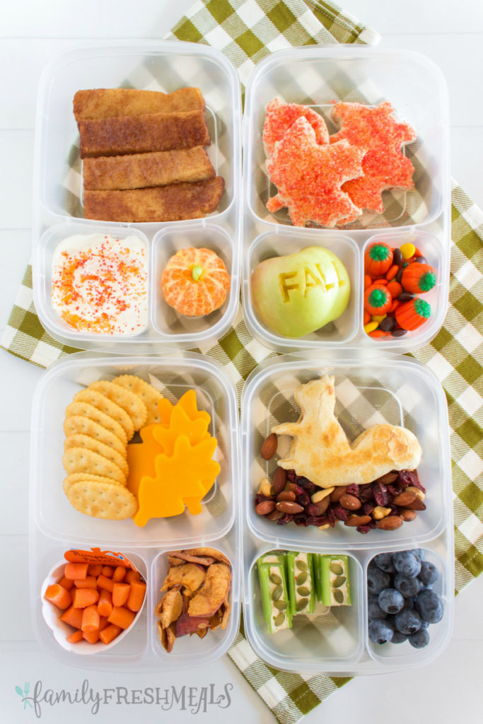 Cute Fall Lunchbox Ideas - Family Fresh Meals