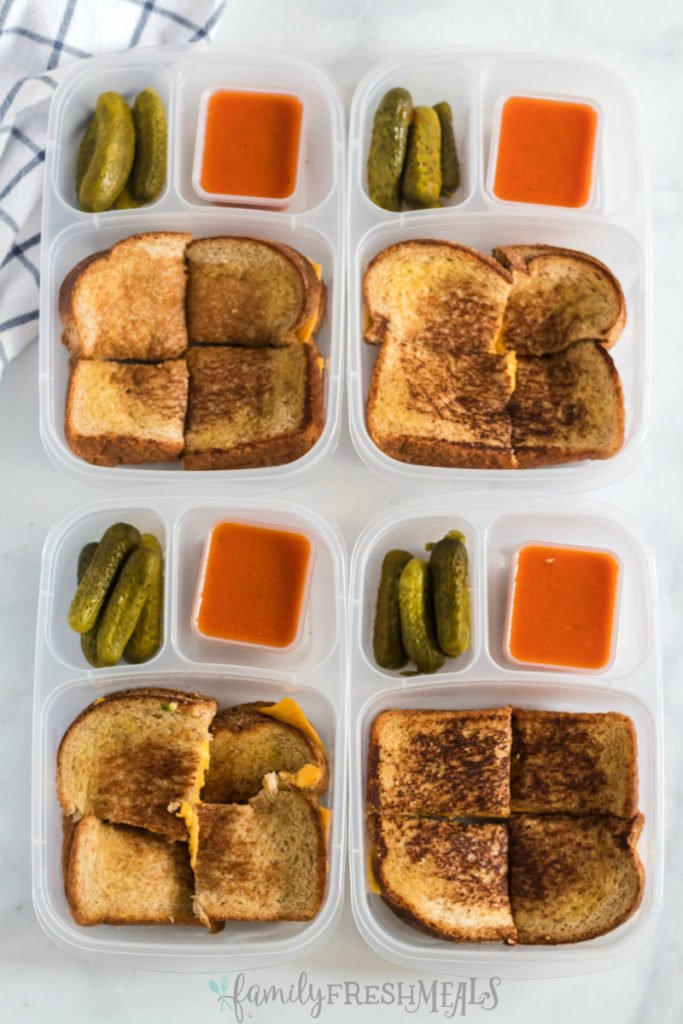 Grilled Cheese Lunchbox Idea - Family Fresh Meals
