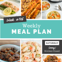 Easy Weekly Meal Plan Week 146