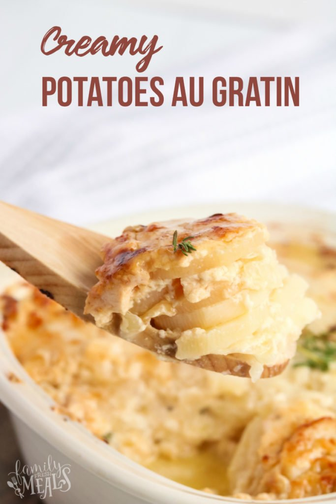 Creamy Potatoes Au Gratin Recipe - Family Fresh Meals