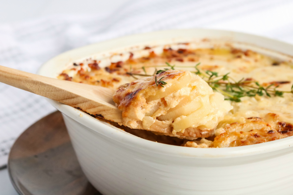 Creamy Potatoes Au Gratin - holiday favorite recipe