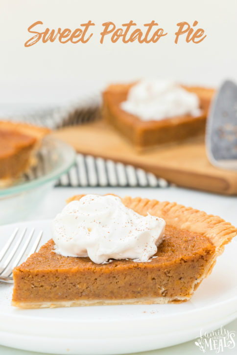 Sweet Potato Pie Family Fresh Meals Recipe