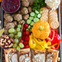Thanksgiving Appetizer Snack Board