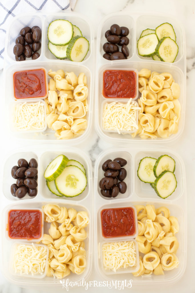 Tortellini Easy Lunchbox Idea - Family Fresh Meals