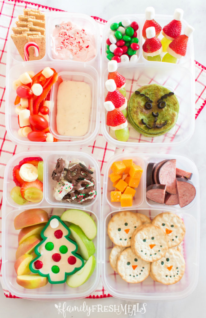 Cute Holiday Lunchbox Ideas - Family Fresh Meals