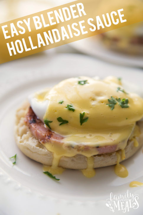 Easy Blender Hollandaise Sauce Recipe - Family Fresh Meals
