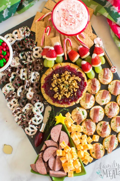Holiday Appetizer Snack Board - Family Fresh Meals