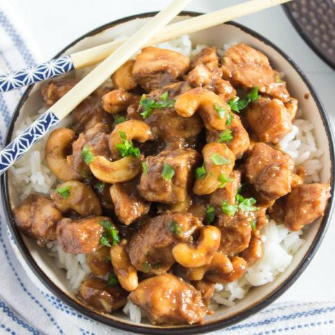 Crockpot Cashew Chicken Recipe - Family Fresh Meals recipe