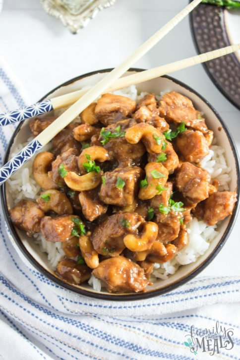 Crockpot Cashew Chicken Recipe - Family Fresh Meals recipe