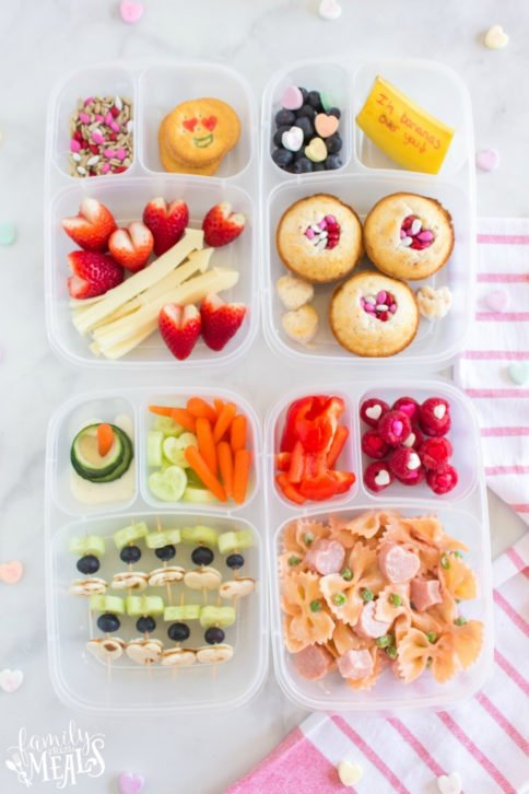 Fun Valentines Say Lunchbox Ideas - Family Fresh Meals