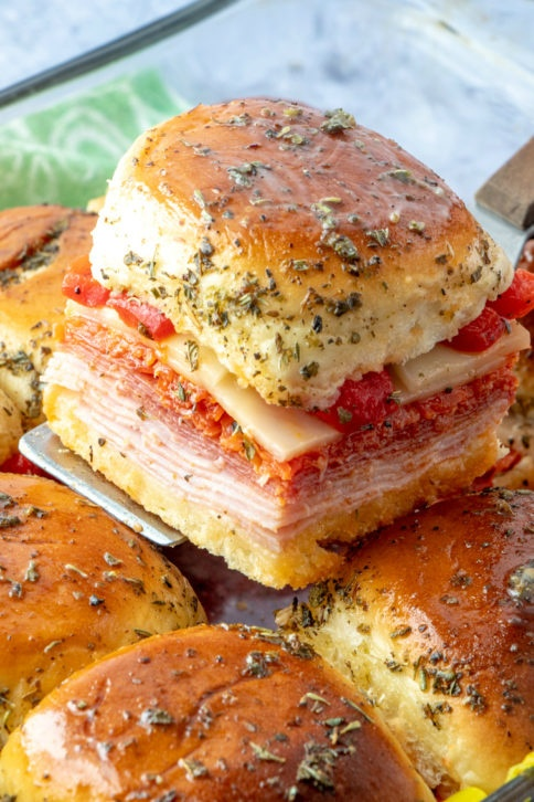 How to Make Hot Italian Sub Sliders Recipe - Family Fresh Meals