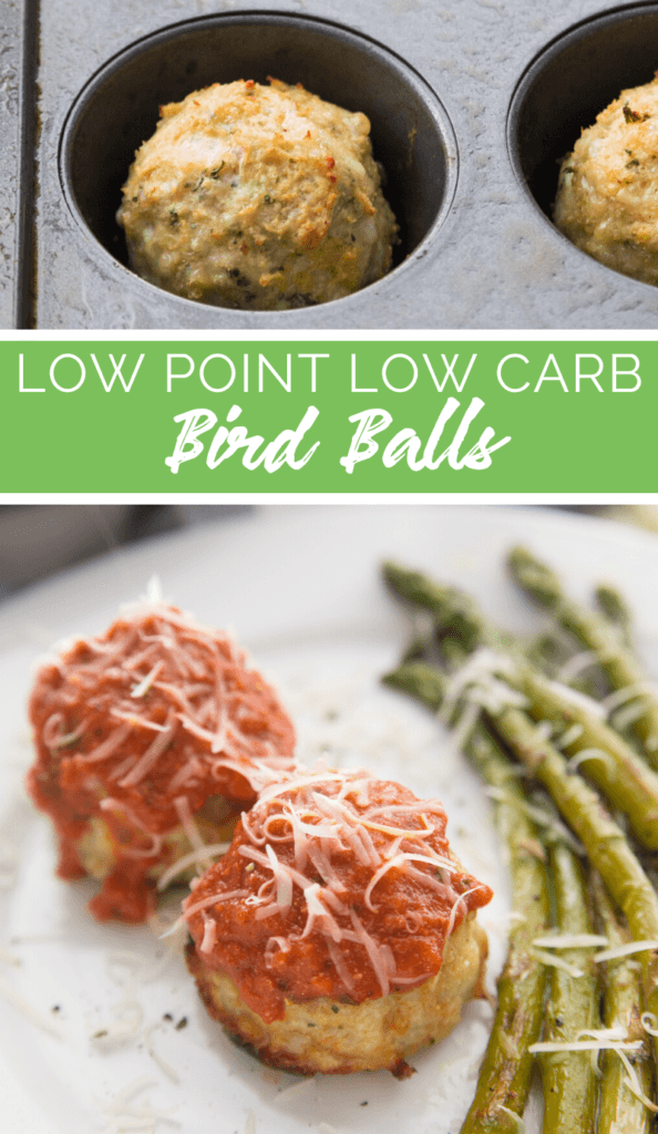 Low Point Low Carb Birdballs recipe from Family Fresh Meals
