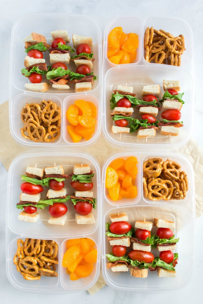 Easy BLT Kabobs Lunchbox Idea - Family Fresh Meals
