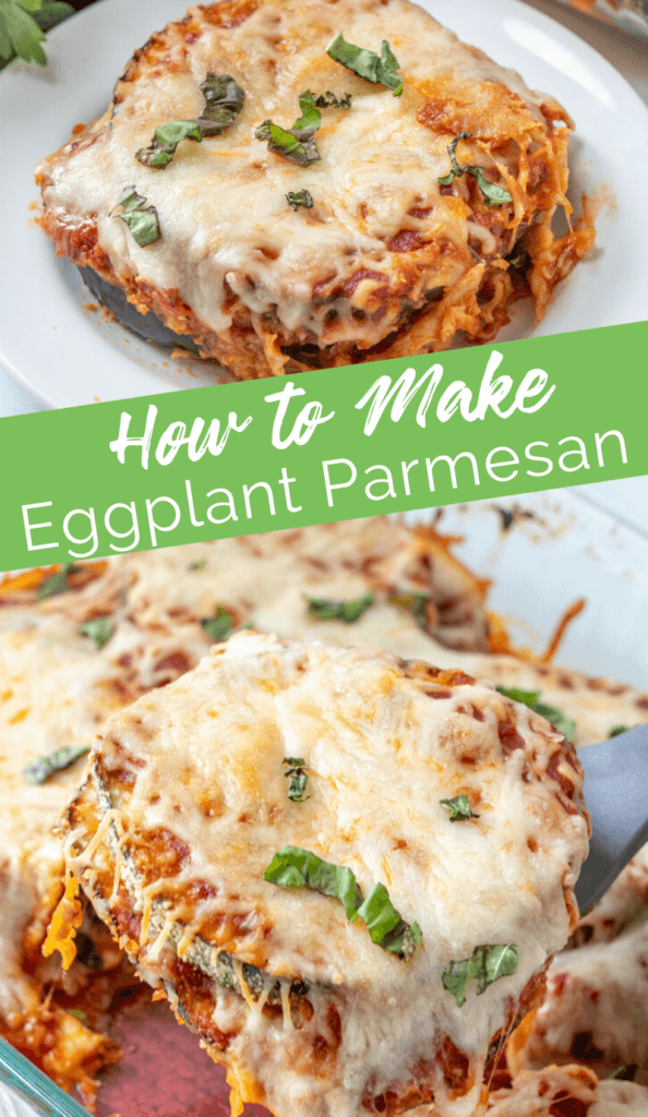 Easy Eggplant Parmesan recipe from Family Fresh Meals