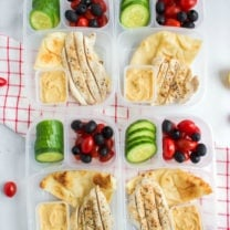 Easy Mediterranean Lunchbox Idea