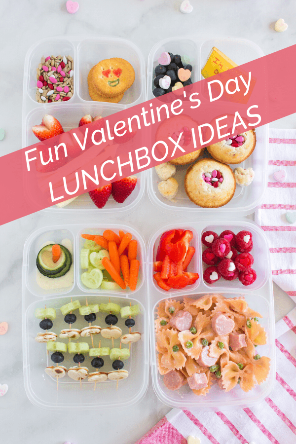 Fun Valentines Day Lunchbox Ideas from Family Fresh Meals