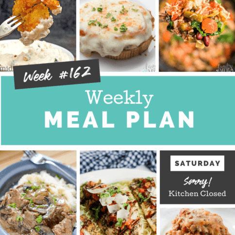 Easy Weekly Meal Plan Week 162 - Family Fresh Meals