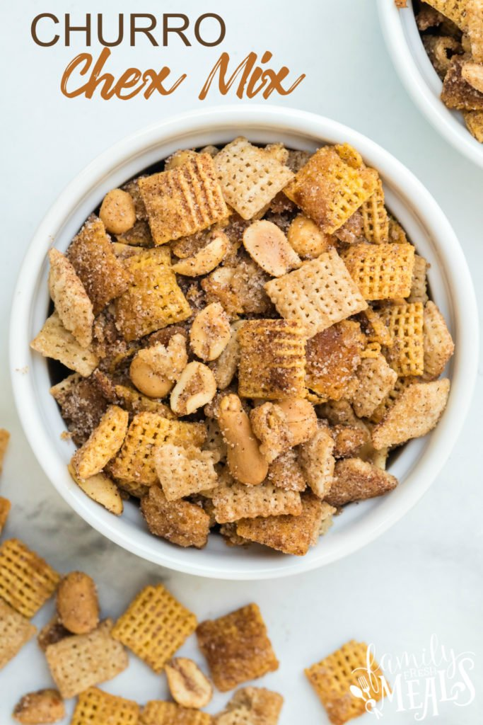 Churro Chex Mix recipe - Family Fresh Meals