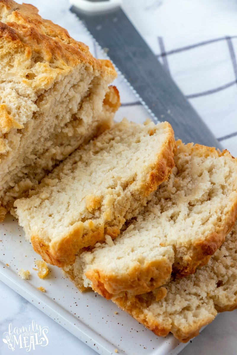 Easy No Yeast Beer Bread Family Fresh Meals