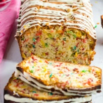 Fruity Pebble Breakfast Bread