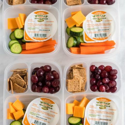 Guacamole Dipper Easy Lunchbox Idea - Family Fresh Meals