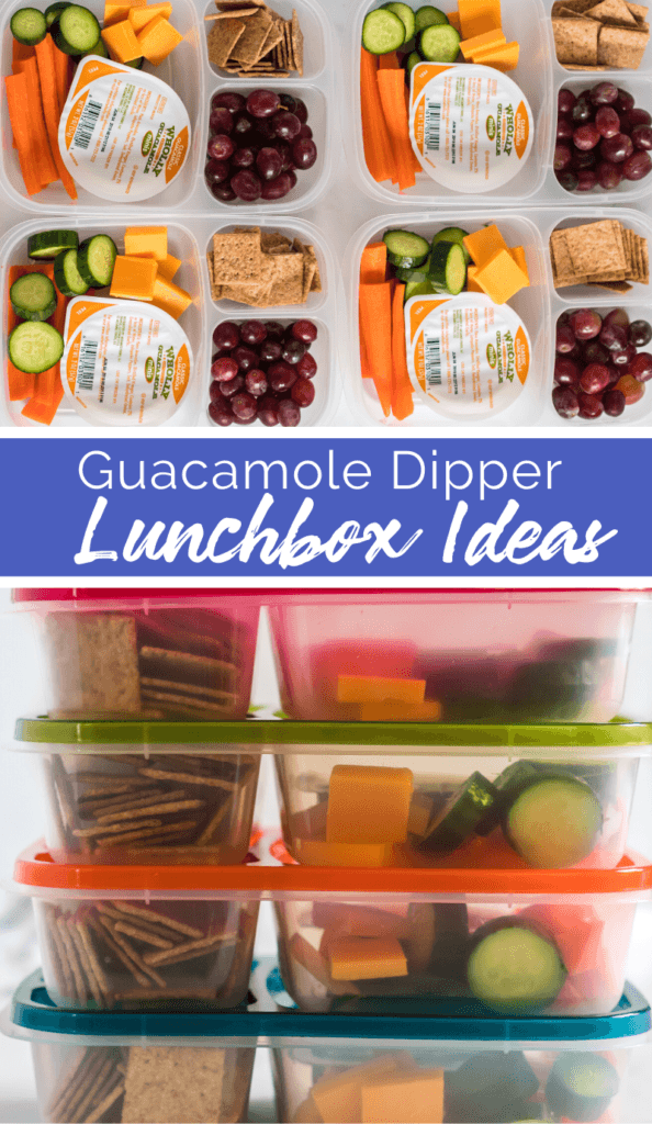 Guacamole Dipper Easy Lunchbox Idea from Family Fresh Meals