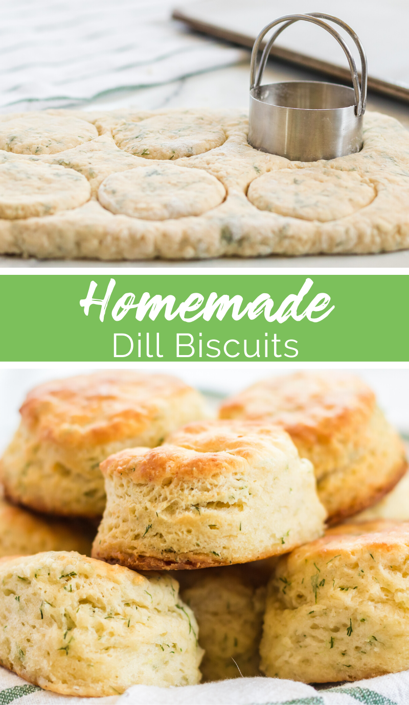 Homemade Dill Biscuits recipe from Family Fresh Meals via @familyfresh