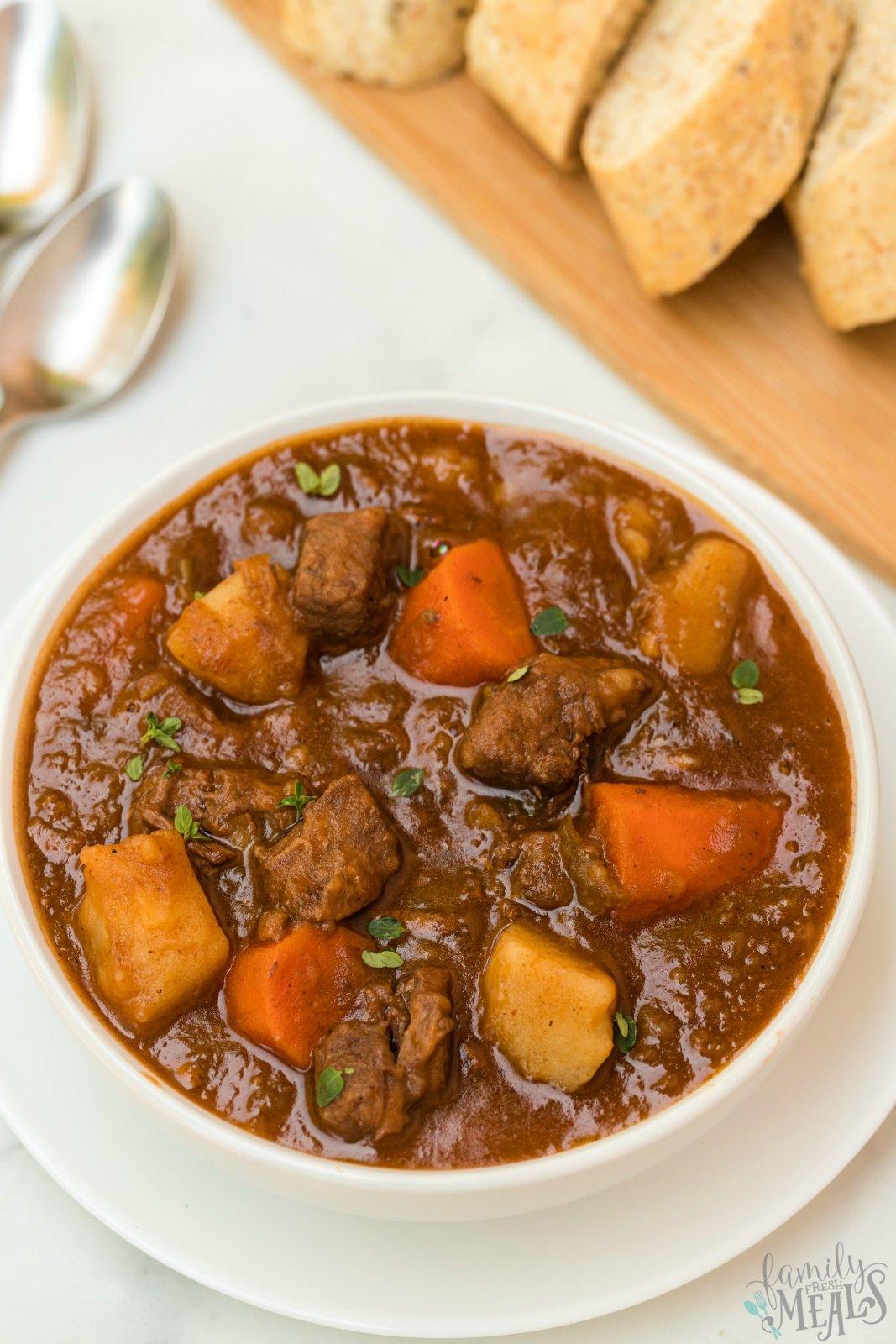 Instant Pot Irish Stew - Family Fresh Meals