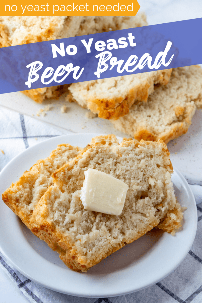 Easy No Yeast Beer Bread Recipe from Family Fresh Meals