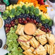St Patrick's Day Appetizer Board