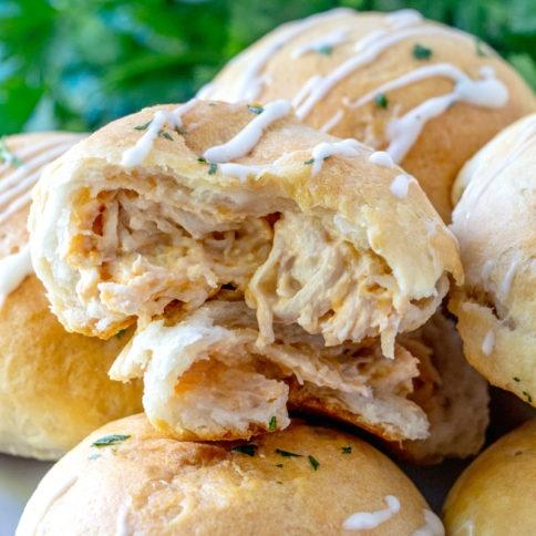 Buffalo Chicken Bombs Recipe - Family Fresh Meals