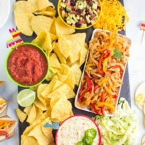 Cinco De Mayo Appetizer Board