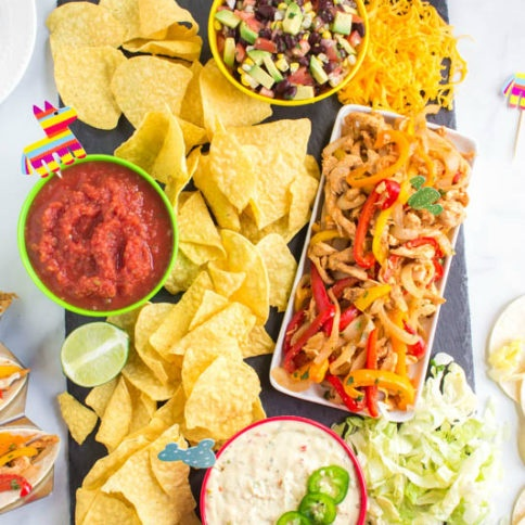 Cinco De Mayo Appetizer Board - Fun food Family Fresh Meals