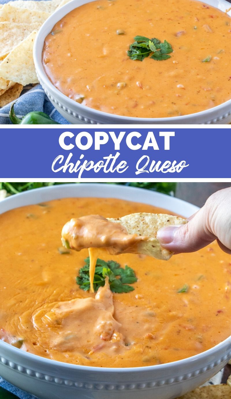 Copycat Chipotle Queso Recipe from Family Fresh Meals